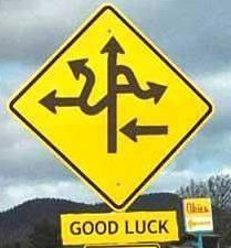 Which way to turn?